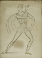 Lot 103 - *Dame Eileen Rosemary Mayo DBE RA (1906-1994) A BALLET DANCER Signed u.r.