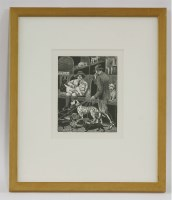 Lot 11 - *Tirzah Ravilious née Garwood (1908-1951) 'THE DOG SHOW'; 'THE HALL OF MIRRORS' Two wood engravings