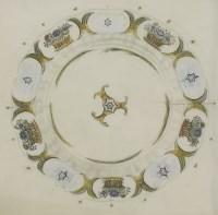 Lot 80 - *Enid Marx (1902-1998) 'CALENDAR DESIGN: CORNUCOPIA' Wood engraving 28 x 22cm; and another