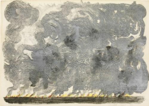 7 - *Bernard Cheese (1925-2013) 'BURNING FIELD 2'