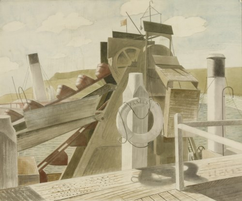 Lot 12 - Eric Ravilious (1903-1942) 'THE JAMES' AND 'THE FOREMOST PRINCE' Signed and dated 'August 1934' l.r.