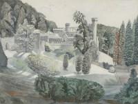 Lot 16 - *Edward Bawden RA (1903-1989) 'CAERHAYS CASTLE