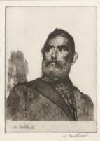 Lot 58 - *Gerald Leslie Brockhurst RA (1890-1978) 'AN OLD CORSICAN' Etching