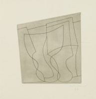 Lot 61 - *Ben Nicholson (1894-1982) 'COMPLEX OF GOBLETS' Etching