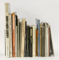 Lot 89 - A collection of books and exhibition catalogues mainly 1960/1970  including: 'Recent British Sculpture'