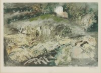 Lot 51 - After John Piper LLANGLOFFAN Reproduction printed in colours