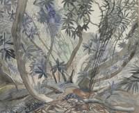 Lot 14 - *Edward Bawden RA (1903-1989) 'HELIGAN JUNGLE' Signed l.r.