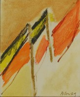 Lot 99 - *Sandra Blow RA (1925-2006) UNTITLED Signed and dated 69 l.r.