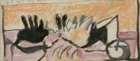 Lot 100 - *Graham Sutherland (1903-1980) 'ORIGINS OF THE LAND'