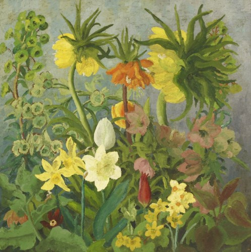Lot 224-*Cedric Morris (1889-1992) 'EASTER BOUQUET'