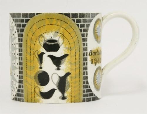 Lot 215 - Eric Ravilious (1903-1942) BARLASTON MUG FOR WEDGWOOD