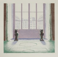 Lot 86 - *David Hockney RA (b.1937) 'TWO VASES IN THE LOUVRE' (SAC 168) Etching in colours