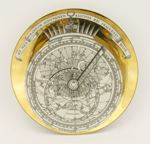 Lot 404-A Fornasetti 'Astrolabio' plate