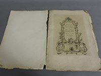 Lot 83 - A small quantity of dry point etchings