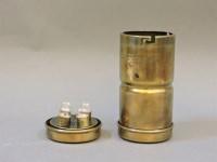Lot 64 - A Joseph Lucas brass bulb holder