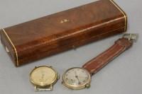 Lot 43 - A 9ct gold gentleman's Smiths mechanical watch head