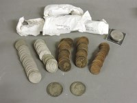 Lot 98 - A quantity of pre-decimal coins