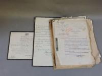 Lot 84 - A folio of correspondence