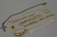 Lot 31 - A 9ct gold diamond cut wedding ring