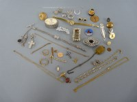 Lot 45 - A collection of jewellery and costume jewellery