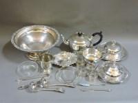 Lot 94 - An Edwardian silver bon bon dish