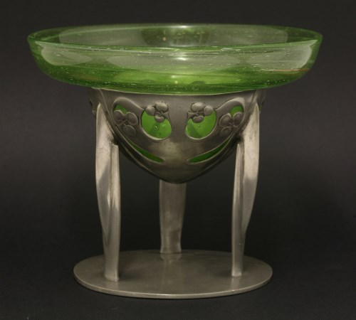 Lot 58 - A 'Tudric' pewter centre stand