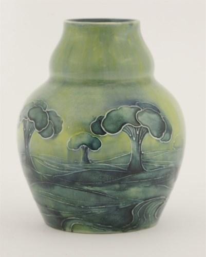 49 - A Moorcroft 'Hazeldene' vase