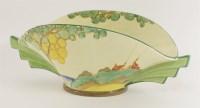 98 - A Clarice Cliff 'Secrets' pattern vase