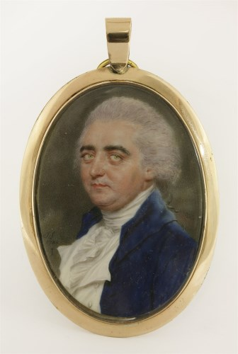 Lot 133-John Smart (1741-1811) PORTRAIT OF A GENTLEMAN