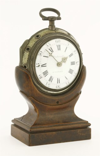 198 - A fusee pair cased coach clock (Kutschenuhr)