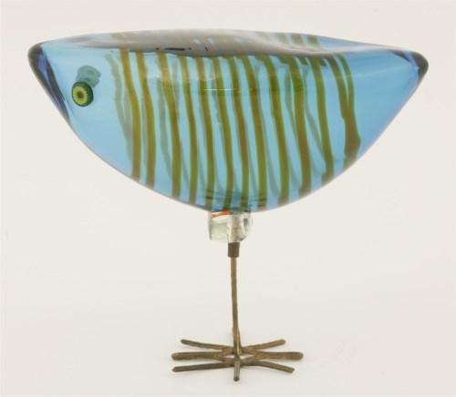 Lot 372-*A Pulcini glass bird