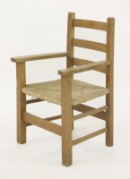Lot 53 - An oak Letchworth child's chair