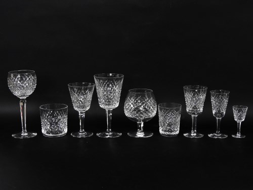 Lot 281-A Waterford cut glass service