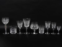 281 - A Waterford cut glass service