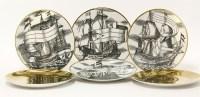 319 - Four 'Velieri' plates