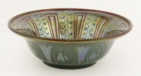 Lot 17 - A Pilkington's Royal Lancastrian lustre bowl