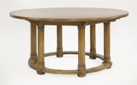 Lot 79 - An Arts and Crafts oak centre table