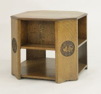 Lot 83 - An Arts and Crafts oak book table