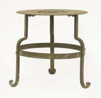 Lot 22 - An Arts and Crafts steel trivet