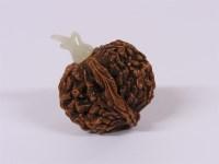 Lot 59-A Chinese walnut snuff bottle