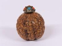 Lot 60-A Chinese walnut snuff bottle