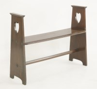 Lot 15 - An Arts and Crafts oak bench