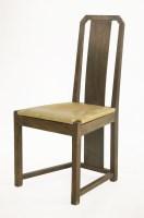 Lot 32 - A Glasgow School dining chair