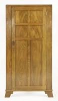 Lot 59 - A Cotswold walnut freestanding corner cupboard