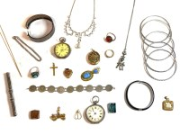 Lot 86 - A collection of jewellery to include