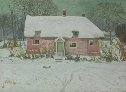 210 - *Margaret Green (1925-2003) 'HOME IN WINTER