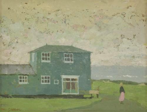 Lot 213 - *Margaret Green (1925-2003) 'WALBERSWICK' Signed l.r.