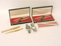 Lot 95 - A Swan 15ct gold fountain pen