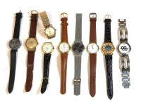 Lot 83 - A collection of wristwatches