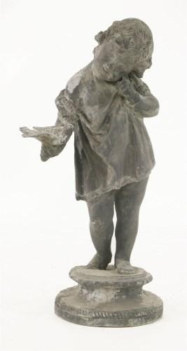 586 - A lead figure